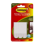 Command™ Picture Hanging Strips and Hangers